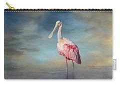 Call Me Rosy Carry-all Pouch by Kim Hojnacki