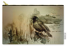 Call Of The Grackle Carry-all Pouch