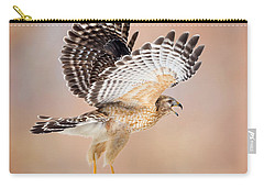 Carry-all Pouch featuring the photograph Call Of The Wild Square by Bill Wakeley