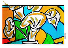 Calla Lilies Fiesta Carry-all Pouch
