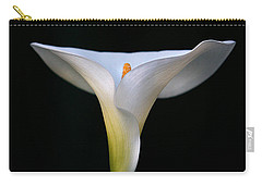 Calla Lily Carry-all Pouch by Marion Cullen