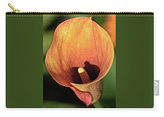 Calla Sunbathing. Carry-all Pouch by Terence Davis