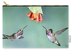 Calliope Hummingbirds Carry-all Pouch