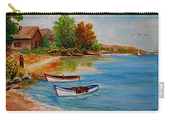 Calm  Autumn Nature Carry-all Pouch