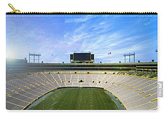 Carry-all Pouch featuring the photograph Calm Before The Game by Joel Witmeyer