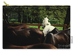 Calm Horses Carry-all Pouch