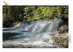 Carry-all Pouch featuring the photograph Calm In Your Heart - Waterfall Art by Jordan Blackstone