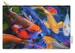 Calm Koi Fish Carry-all Pouch