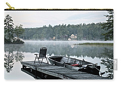 Calm Morning On Little Sebago Lake Carry-all Pouch