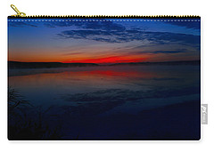 Calm Of Early Morn Carry-all Pouch by Jeff Swan