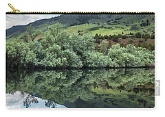 Calm Pond - Cloud Reflections II Carry-all Pouch