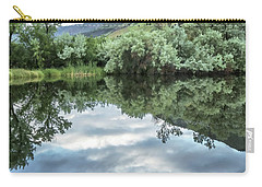 Calm Pond - Cloud Reflections Carry-all Pouch