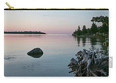Calm Water At Lake Huron Crystal Point Carry-all Pouch