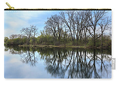 Calm Waters At Wayne Woods Carry-all Pouch
