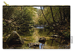Carry-all Pouch featuring the photograph Calmer Water by Douglas Stucky
