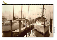 Carry-all Pouch featuring the photograph Calmly Docked by Brian Wallace