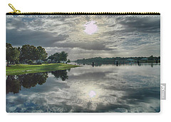 Carry-all Pouch featuring the photograph Caloosahatchee At Daybreak by Judy Hall-Folde