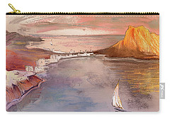 Calpe At Sunset Carry-all Pouch