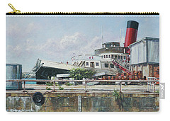 Calshot Tug Boat At Southampton Docks Carry-all Pouch