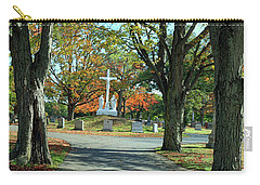 Calvary Cemetery In Waltham Carry-all Pouch