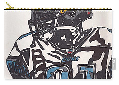 Calvin Johnson Jr 3 Carry-all Pouch