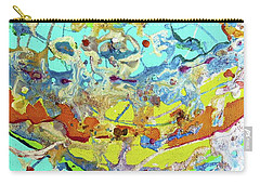 Carry-all Pouch featuring the painting Calypso by Desiree Paquette