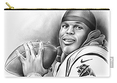 Cam Newton Carry-all Pouch by Greg Joens