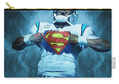 Cam Newton Superman Carry-all Pouch by Dan Sproul