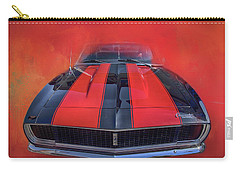 Camaro - Forged By Fire Carry-all Pouch by Theresa Tahara