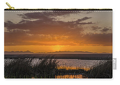 Carry-all Pouch featuring the photograph Camas National Wildlife Refuge by Yeates Photography