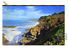 Cambria By The Sea Carry-all Pouch