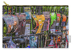 Cambridge Adverts Carry-all Pouch by David Warrington