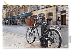 Carry-all Pouch featuring the photograph The Wheels Of Justice - Cambridge Magistrates Court by Gill Billington