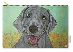 Camden The Weimaraner Carry-all Pouch