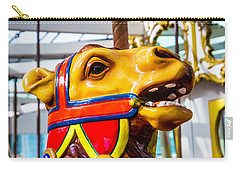 Camel Carrousel Ride Carry-all Pouch by Garry Gay