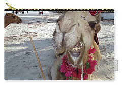 Camel On Beach Kenya Wedding2 Carry-all Pouch
