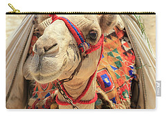 Carry-all Pouch featuring the photograph Camel by Silvia Bruno