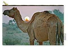 Camel Sunrise Carry-all Pouch
