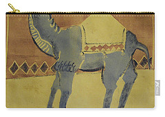 Camel With Diamonds Carry-all Pouch