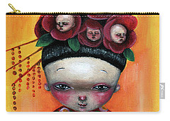Camellia And Friends Carry-all Pouch