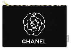 Camellia Chanel Carry-all Pouch