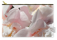 Camellias Softly Carry-all Pouch by Michele Myers