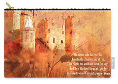 Carry-all Pouch featuring the digital art Camelot 2017 by Kathryn Strick