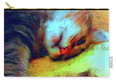 Camilla Cat II Carry-all Pouch by Gerhardt Isringhaus