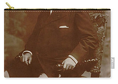 Carry-all Pouch featuring the painting Camille Saint-saens  by Artistic Panda