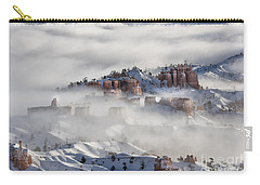 Carry-all Pouch featuring the photograph Camouflage - Bryce Canyon, Utah by Sandra Bronstein