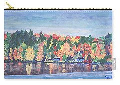 Camp Archbald At Ely Lake Carry-all Pouch