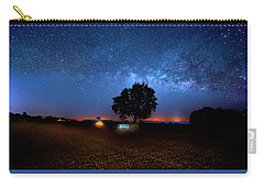 Camp Milky Way Carry-all Pouch by Mark Andrew Thomas