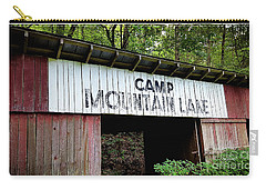 Camp Mountain Lake Horse Stables - Vintage America Carry-all Pouch