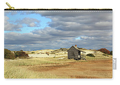 Camp On The Marsh And Dunes Carry-all Pouch by Roupen  Baker
